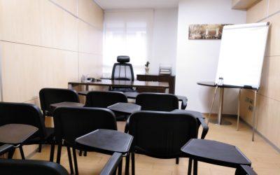 Alquiler de Sala de Formación, el complemento para tu Negocio